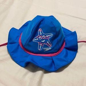 NWOT Speedo Girls Swim/Beach Water Bucket Hat